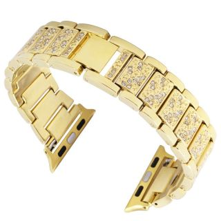 Watch 40mm / 38mm Diamond fém szíj - arany