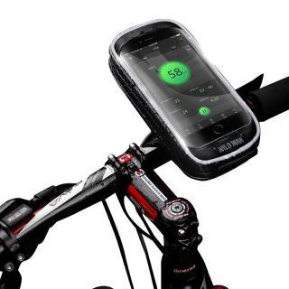 Wildman kemény táska kerékpár kormányra - XXS méret