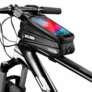 Wildman kemény táska kerékpárra - L méret