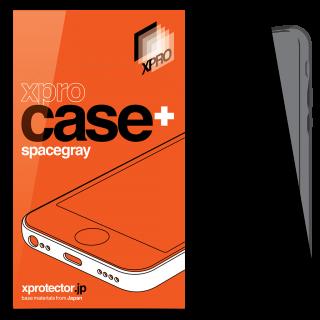 xPRO iPhone 6 Plus/6s Plus szilikon tok por- és kameravédővel - szürke