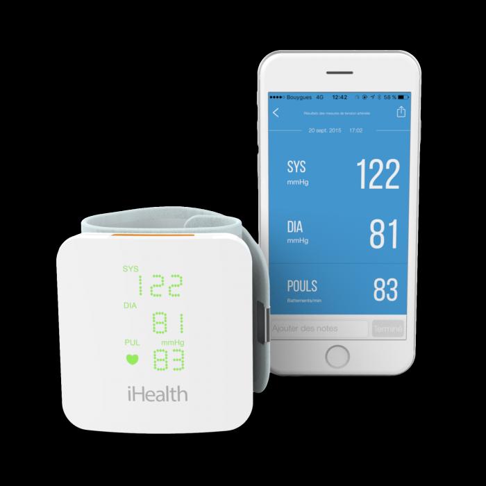 iHealth VIEW BP7s vérnyomásmérő - csuklóra